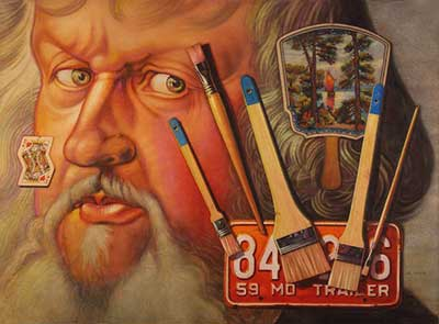 Watercolor USA Honor Society - Kent Addison - Brush Up With Albrect Durer